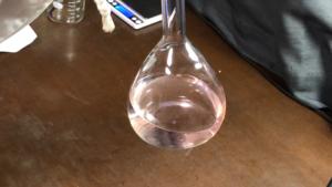 透明な液体